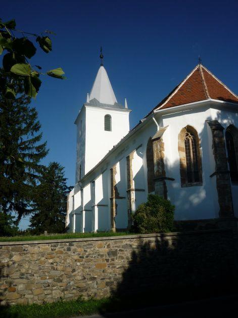 Nyár végén a templom